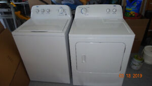 Washer / Dryer Pair:  Very Clean