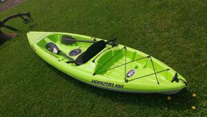 kayak à vendre servi une fois pratique ment neuf