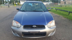 2004 Subaru Impreza Outback Sports Wagon
