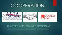 Internship and training program for cooks and f&b