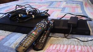 2 Rogers PVR/Dvr Receivers with 2 working remotes