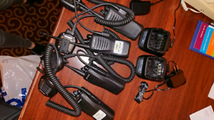 Kenwood 2 way radios with secured channels