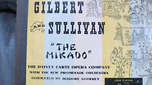 Gilbert and Sullivan record