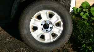 (4) F-150 Alloy Rims & 265/70/17 Winter tires