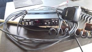 CB radio and antenna
