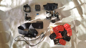 GoPro Hero 4 Session + Stuff! (Gently Used)