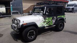 1987 Custom Jeep Wrangler YJ