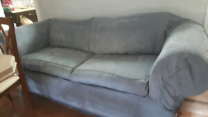 "Sofa / Couch cover - fits up to 93"" - Blue"