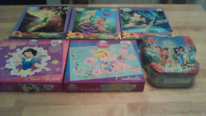 Disney Princess and Fairies Puzzles. Make me an offer.