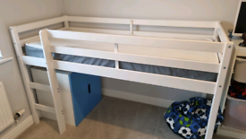 Mid sleeper shorty bed & mattress