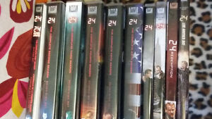 """(NEW PRICE) Complete series of """"24"""" DVD"""