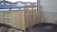 Professional and Quality Fence Construction: On-time, Fixed Cost