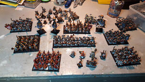 Fully Painted Dwarf Army