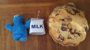 Cookie and milk costume!