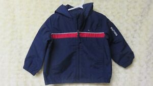 Tommy Hilfiger Boys Spring/Summer/Fall Coat Navy/Red Size 2 Yrs