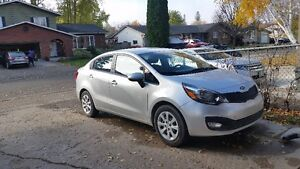 13 Kia Rio LX+ Sedan Manual Accident Free