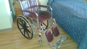 fauteuil roulant comme neuf