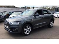 2013 Audi Q3 2.0 TDI Quattro S Line 5dr Manual Diesel Estate