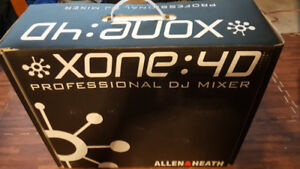 Allen & Heath XONE 4D (NEW Condition) PRO DJ Mixer OBO