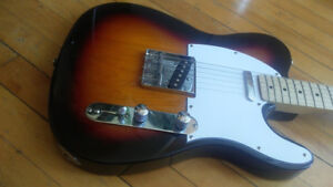 Fender Squire Telecaster with smart 4 Way Switch MOD $380.00