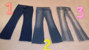 6 pairs of women's name brand jeans!!! Nearly new!!!