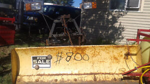 MUST GO! tractor,snowplows, farm impliments, hydraulics and more