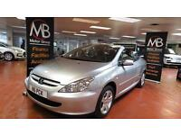 2005 PEUGEOT 307 2.0 Sport Seats Electric Hard Top 16000 Miles Only