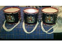 3 Premier 97s Marching Side Drums for £550 ONO