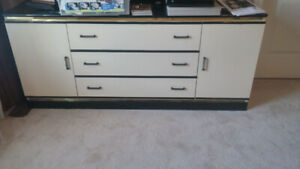 Chest of Drawers and Two Night Tables