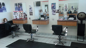 Salon Equipment chairs, stations, massage bed etc..
