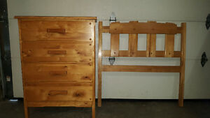 Chest of Drawers + Headboard
