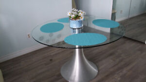 Glass Dining Table (Kudos)