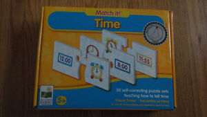 Learning time puzzle