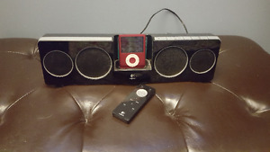 Ipod with logitech docking station