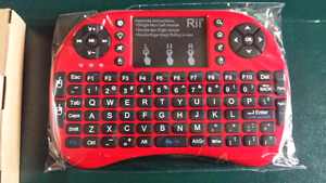 Mini Wireless remote/keyboard/touchpads