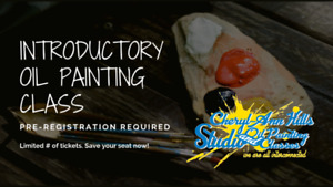 Oil Painting Classes Teens & Adults in Hamilton