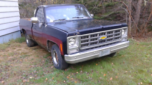 REDUCED!! 1979 CHEVROLET LONG BOX 1/2 TON