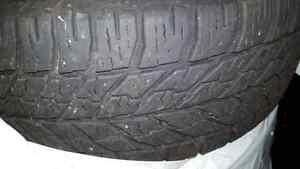 Winter Tires - Goodyear Ultragrip 215/60R16 on steel rims
