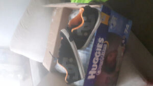 Diapers and shoes