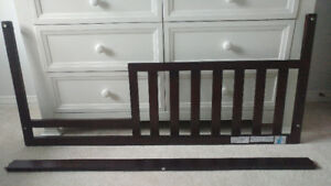 Baby Cache Windsor Espresso - Guard Rail and Other Crib Parts