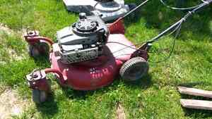 Lawnmower White Commercial
