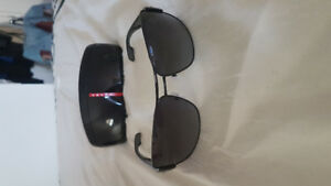 Prada and Hugo Boss sunglasses