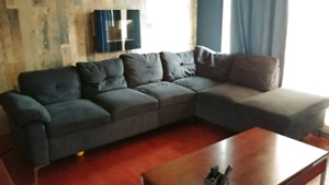 Sofa sectionnel 7 place