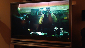 AS IS: 55-Inch Sony Rear Projection KDF-55E2000