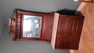 Antique Dresser with marble top