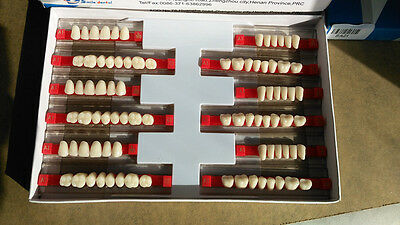 3sets Of 281 Dental Acrylic Teeth Denture Small Size 390 Vita Color A1