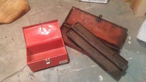 Tool boxes - $10.00 for both