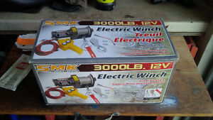 SMK 3000 lb Winch - Brand new in box- NEW PRICE