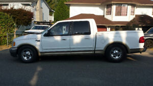 SOLD!!!! 2001 Ford F-150 SuperCrew Harley-Davidson Pickup Truck