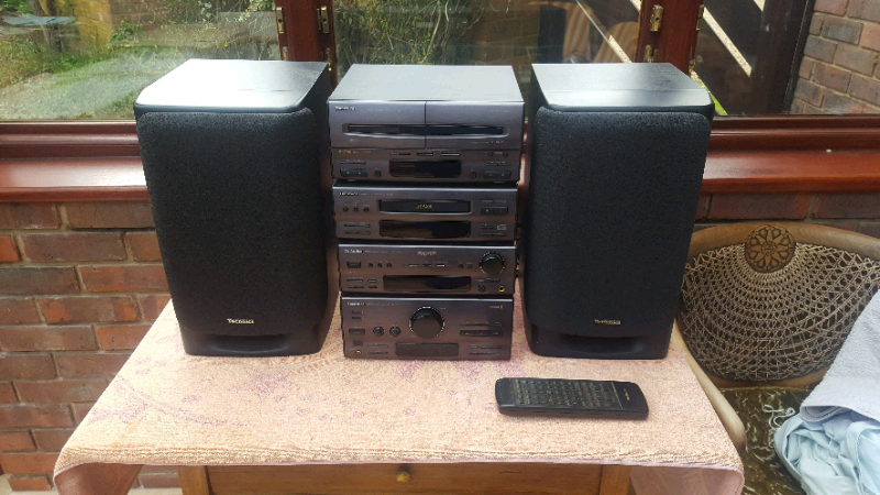 Technics ch950 Stereo With Speakers, cassette CD and radio player | in  Knebworth, Hertfordshire | Gumtree
